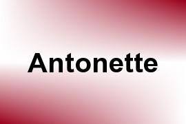 Antonette name image