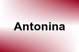Antonina name image
