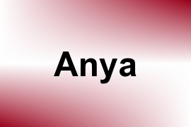 Anya name image