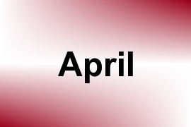 April name image