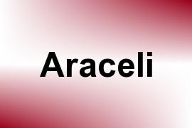 Araceli name image