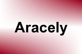 Aracely name image
