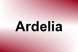 Ardelia name image