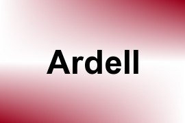 Ardell name image