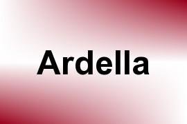 Ardella name image