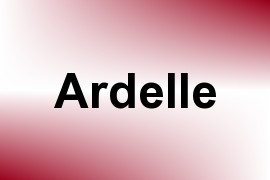 Ardelle name image