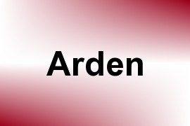 Arden name image