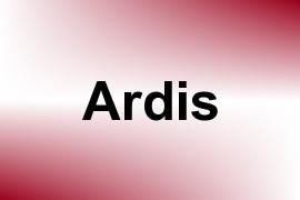 Ardis name image