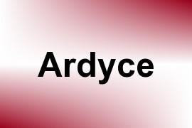 Ardyce name image