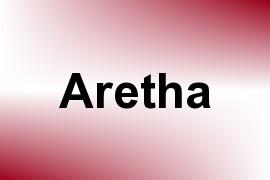 Aretha name image