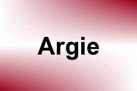 Argie name image