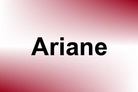 Ariane name image