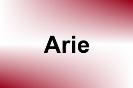 Arie name image
