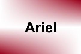 Ariel name image