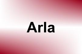 Arla name image