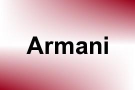 Armani name image