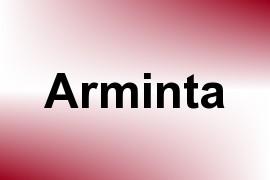 Arminta name image