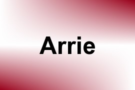 Arrie name image