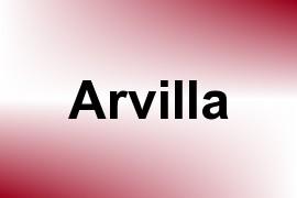 Arvilla name image