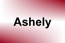 Ashely name image