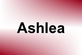 Ashlea name image