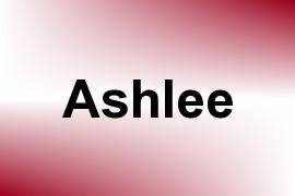 Ashlee name image