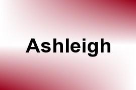 Ashleigh name image