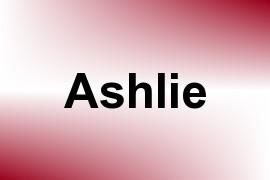 Ashlie name image