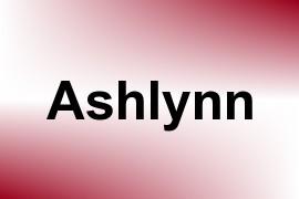 Ashlynn name image
