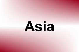 Asia name image
