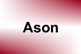Ason name image
