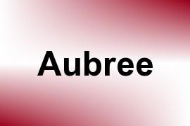 Aubree name image