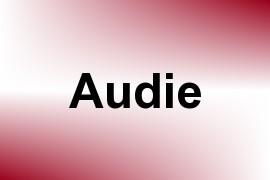 Audie name image