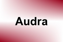 Audra name image