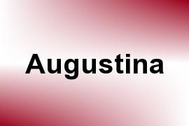 Augustina name image