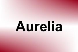 Aurelia name image