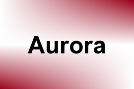 Aurora name image