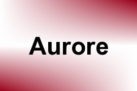 Aurore name image