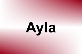 Ayla name image