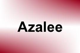 Azalee name image