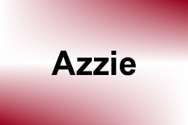 Azzie name image