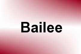 Bailee name image