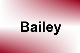 Bailey name image