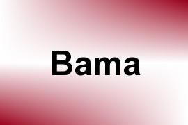 Bama name image