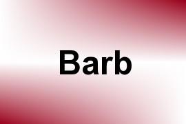 Barb name image