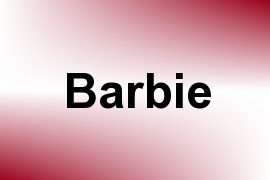 Barbie name image