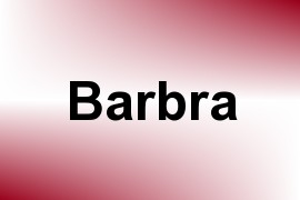 Barbra name image