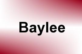 Baylee name image