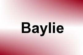 Baylie name image