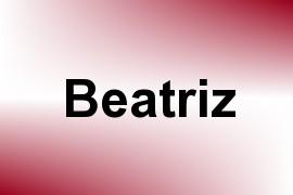 Beatriz name image